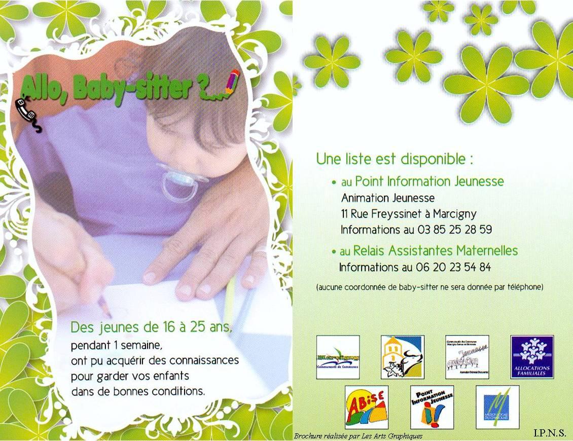 Allo Baby Sitter Mairie Semur En Brionnais Infos
