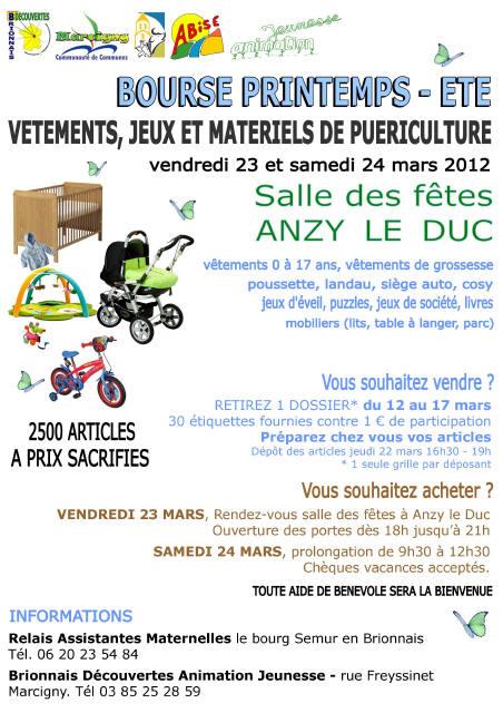 Vie intercommunale mairie semur en brionnais infos - Grille indiciaire adjoint d animation eme classe ...