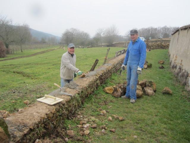 Le mur du chemin de ronde restauré IMG_0481_1