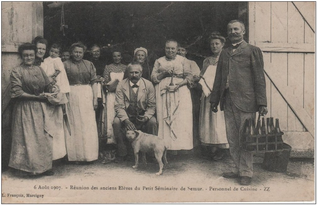 Reunion des anciens Eleves du Petit Seminaire de Semur