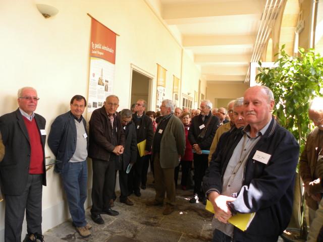 Brio2904FC1 Les anciens élèves lors de l'inauguration de l'exposition_1_1