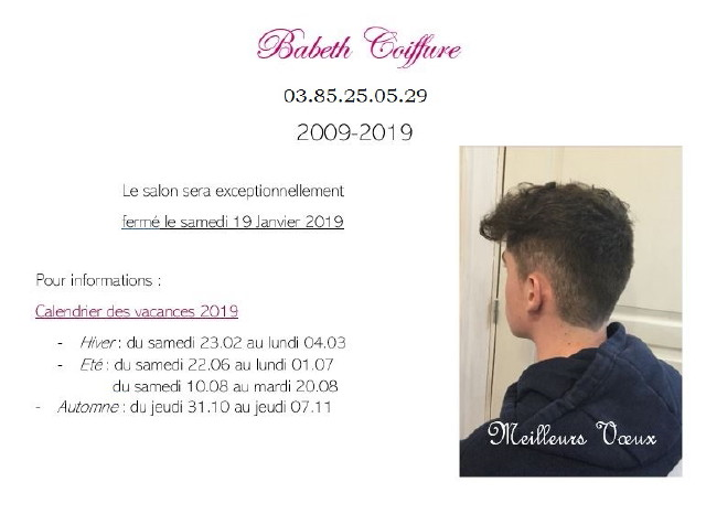 Babeth Coiffure Janvier 2019_1