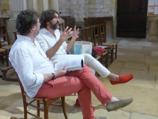 Brio0108FC1 Les deux maîtres donnent leurs conseils aux jeunes musiciens_1