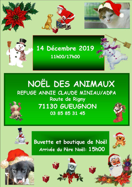 Noel des animaux 14 décembre 2019_1