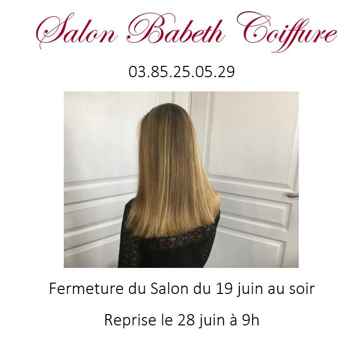 Babeth coiffure juin 2021